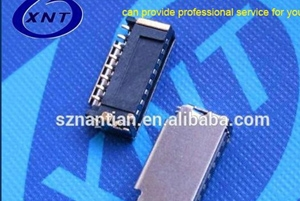 In August, successfully developed ultra-thin TF card holder 1.28H
