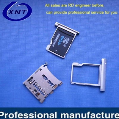 TF card holder TF/microSD with tray type