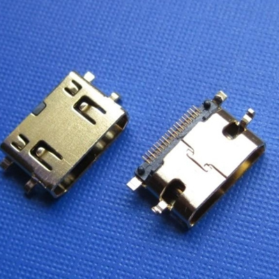 HDMI C TYPE SMT female Sinking0.8MM