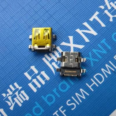 HDMI D TYPE Female Sink Shell DIP