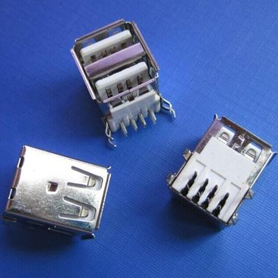 上海Dual USB A type board DIP type