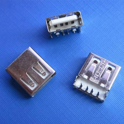 上海USB A type on-board 2.0mm DIP type