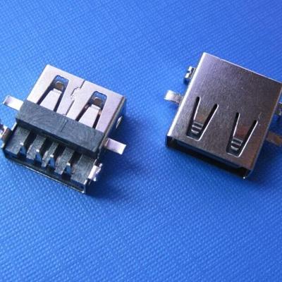 上海USB A type sink DIP type (Soldering feet: DIP, Housing: Front and rear)