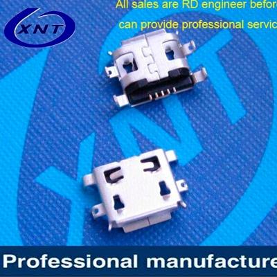 上海microUSB B type 5pin with curling plate 1.00mm
