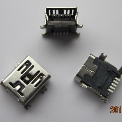 miniUSB B type 5pin (Soldering feet: SMT, Housing: SMT)