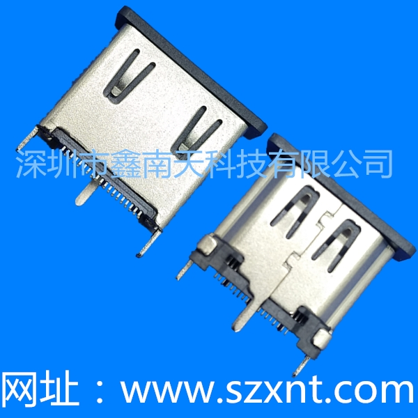 常熟HDMI A TYPE Female Terminal vertical 10.50MM length